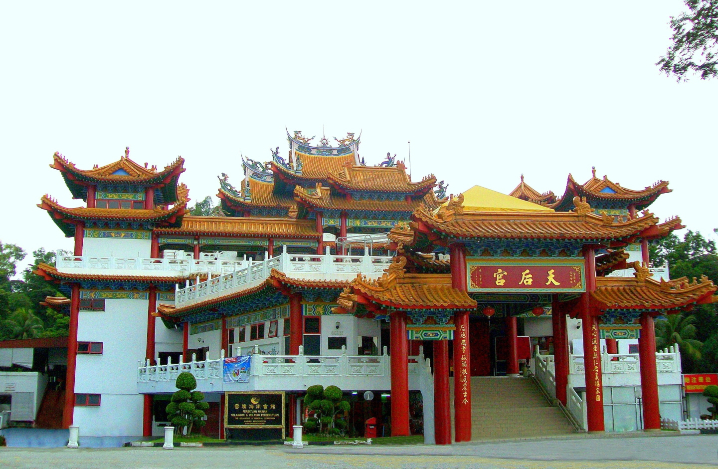 Traditional Chinese Thean Hou Temple (Hainanese) for  Goddess Tian Hou (The Heavenly Mother)