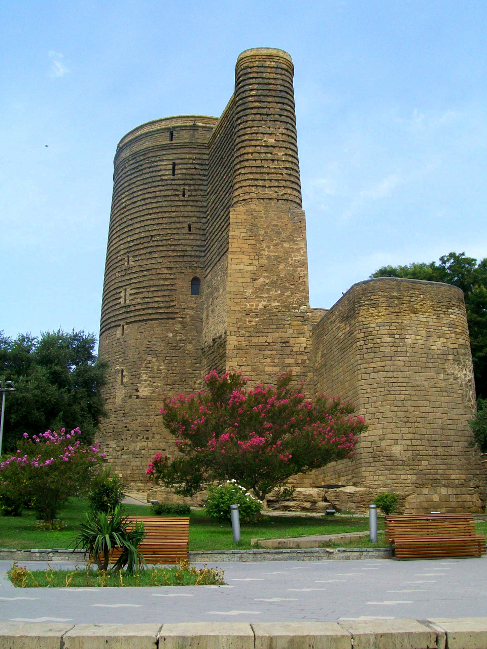 Mystery - Maidens Tower (Belived 12th Cen.) Unknown Purpose - Some Believe Zoroastrian Tower - Bacu, Azerbaijan