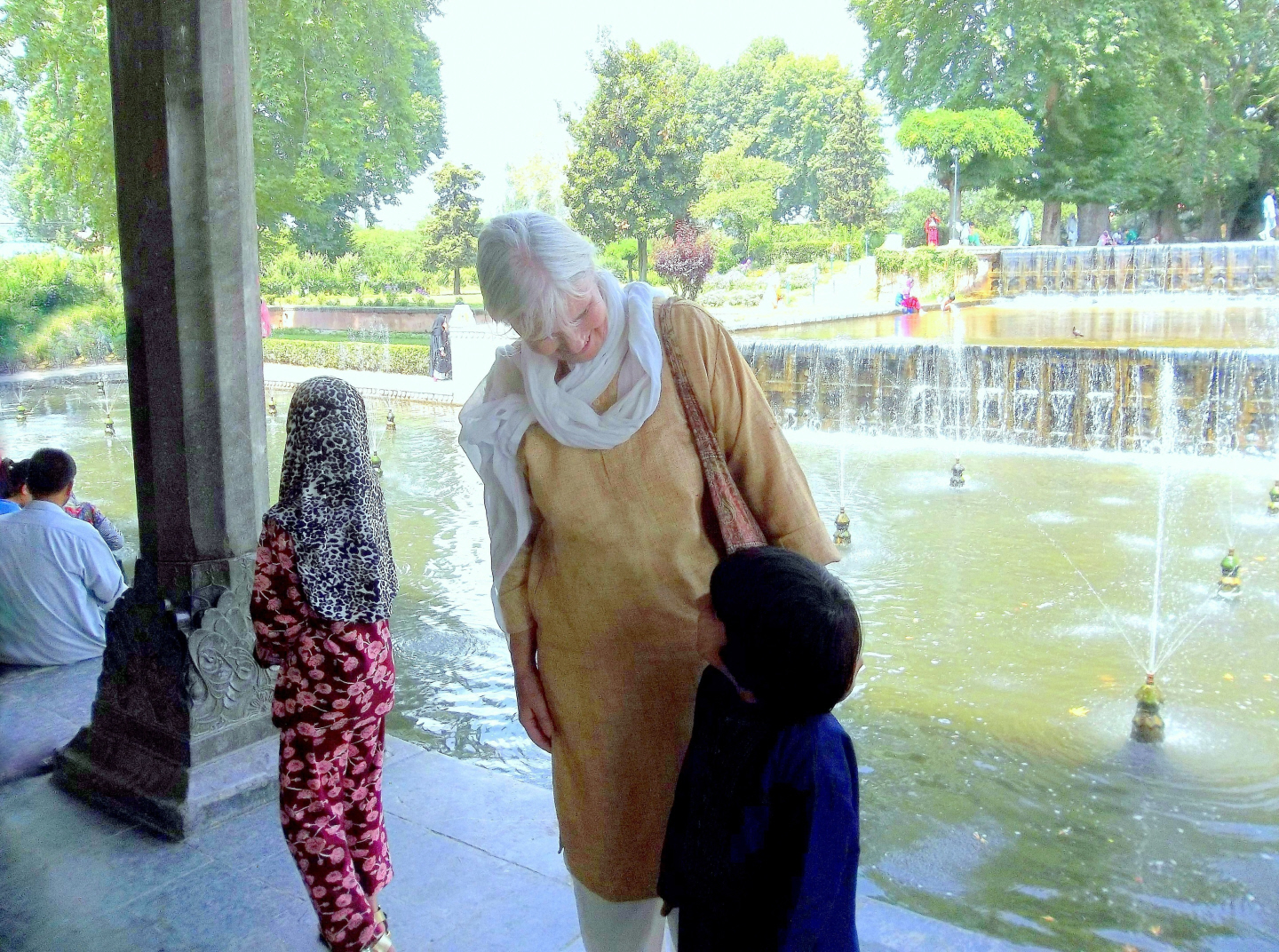 Children are the Most Curious - The Most Wonderful Asset for Learning & an Open Mind - Shalimar Gardens, Srinagar- Kashmir