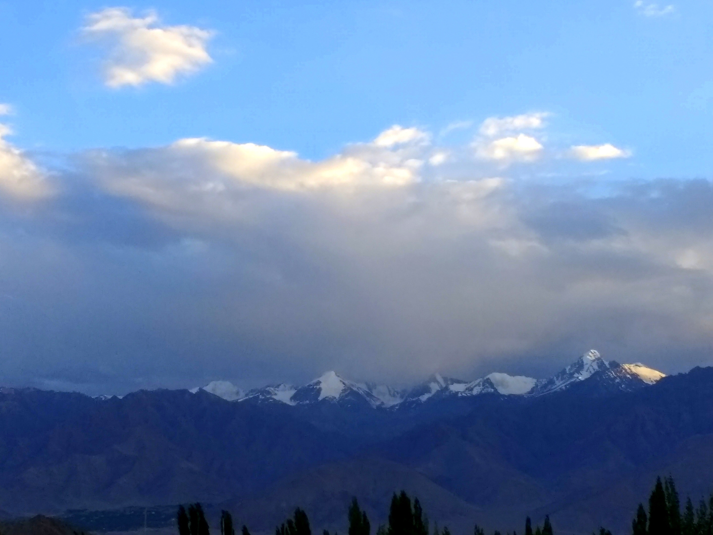 View from Leh, Ladakh - Himalaya Mountains