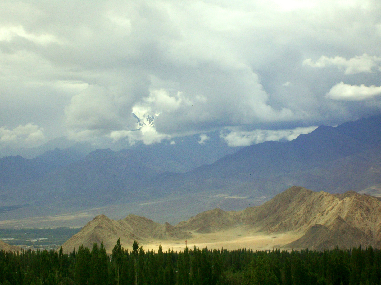 View of Himalayas - Lah, Ladakh