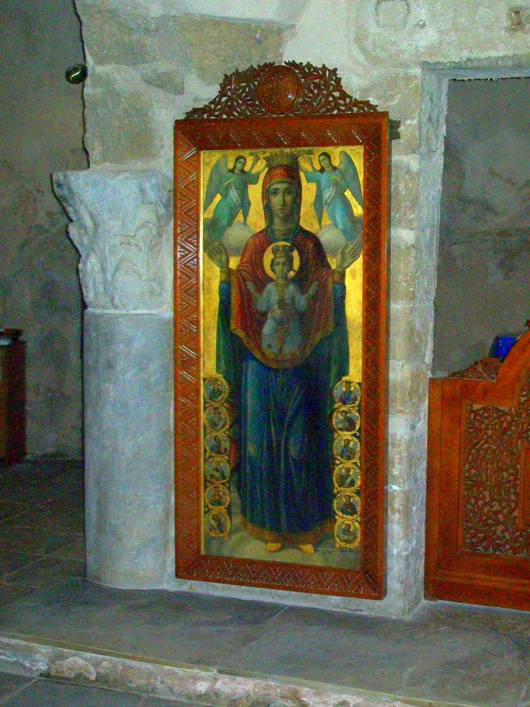 Mother Mary (Mariam) & Jesus (Isa)Ayia Napa Monastery (10th c.) - Ayia Napa, Cyprus