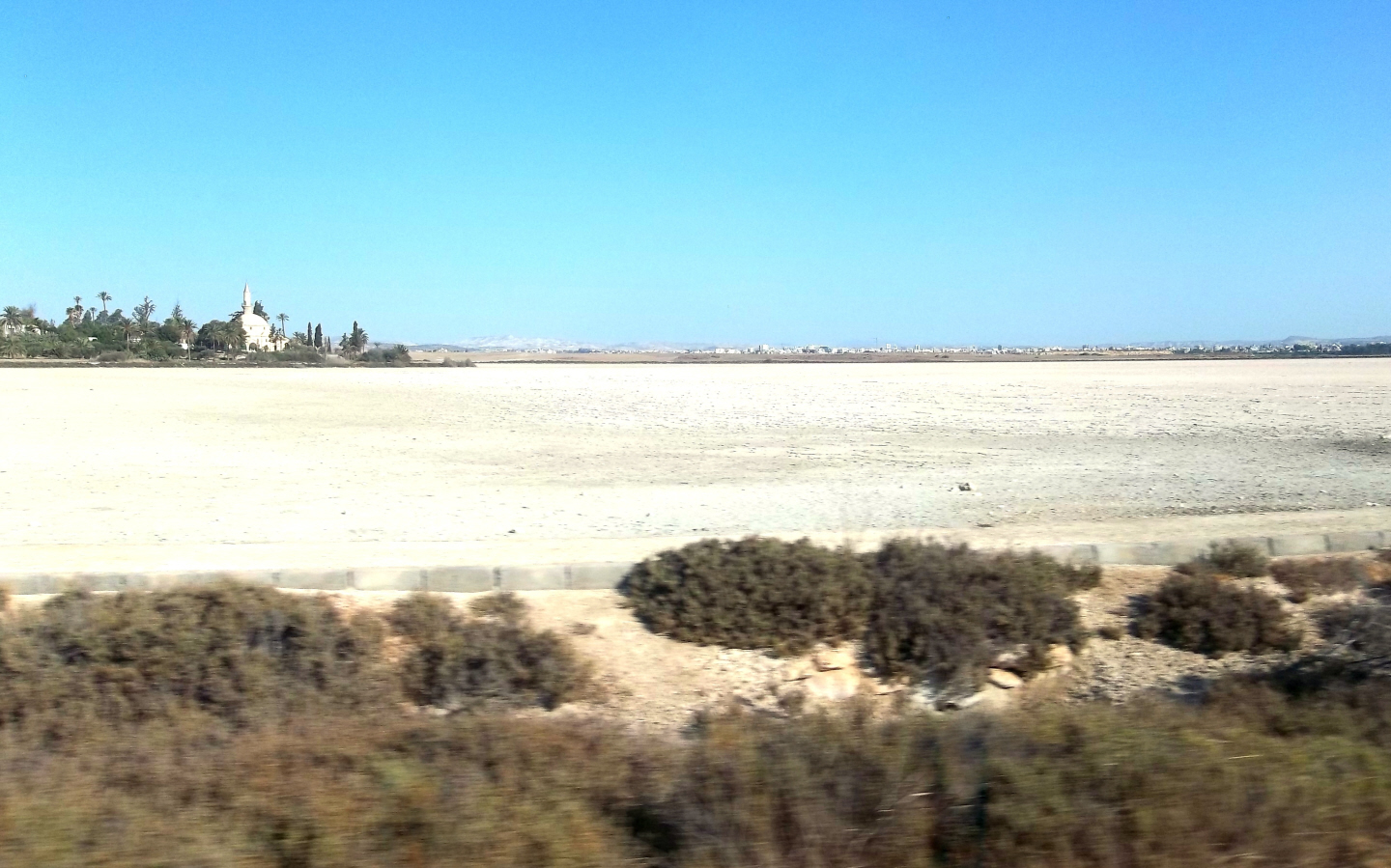 Larnaca Salt Lake - Cyprus