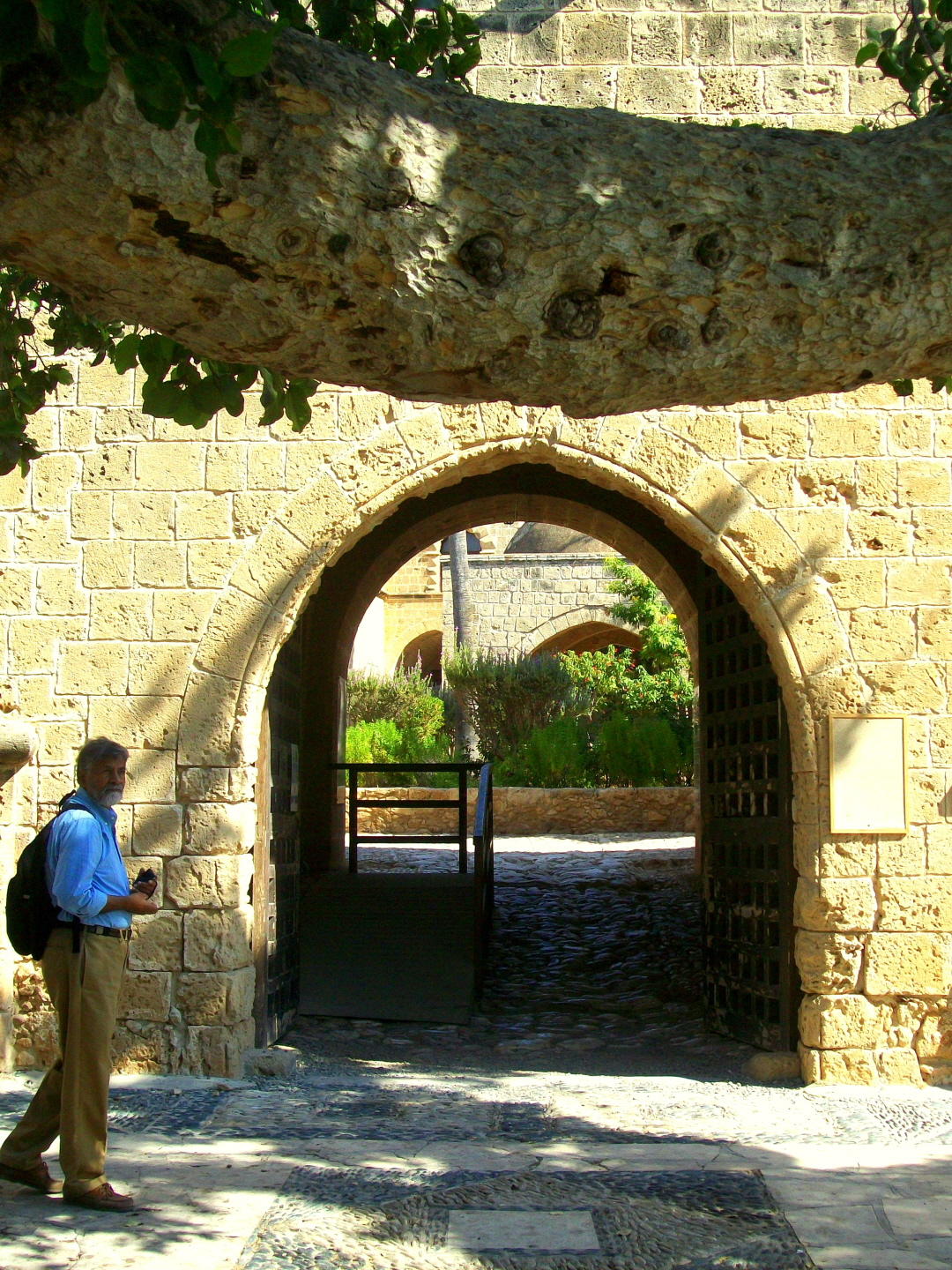 Ajata at Entrance to Ayia Napa Monastery (10th c.) - Ayia Napa, Cyprus